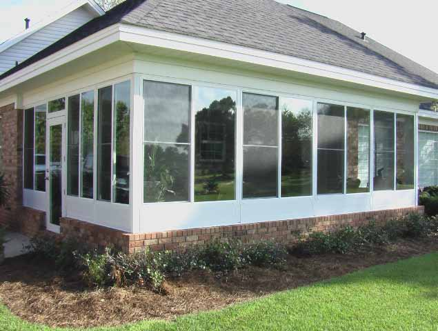 Florida room sun room advanced home improvements for How to build a florida room